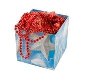 Коробка рождества стоковое изображение rf