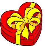 Коробка сердца Стоковое Изображение RF