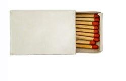 Коробка спички Стоковое Изображение