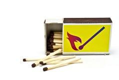 Коробка спички Стоковое фото RF