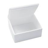 Коробка стиропора Стоковые Фото