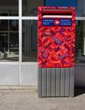 Коробка столба Канады Стоковое Фото