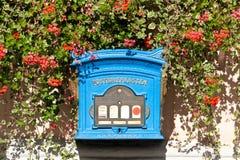 Коробка столба Стоковое Фото