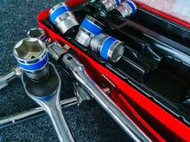 Коробка с инструментами Стоковая Фотография RF