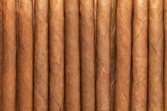 Коробка с кубинскими сигарами Стоковое Изображение