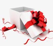 Коробка с подарками Стоковые Изображения