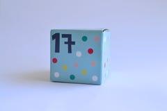 Коробка с 17 Стоковое фото RF