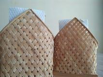 Коробка ткани в традиционном ресторане стоковое фото rf