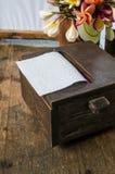 Коробка ткани Стоковые Изображения RF