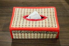 Коробка ткани Стоковое Изображение RF