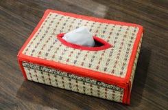 Коробка ткани Стоковые Фото