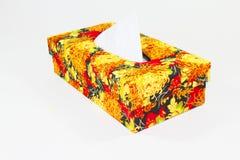 Коробка ткани Стоковые Фотографии RF