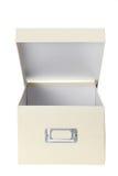 Коробка хранения картона Стоковая Фотография RF