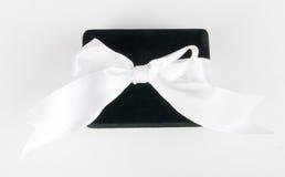 Коробка ювелира на белизне Стоковая Фотография RF