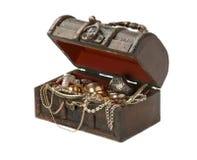 Коробка ювелирных изделий Стоковые Изображения RF
