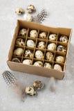 Коробка яичек триперсток Стоковые Фото