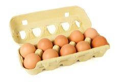Коробка яичек Стоковое фото RF