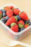 Коробка для завтрака здоровья Стоковое Изображение RF