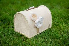 Коробка для подарков для свадьбы Стоковые Фото