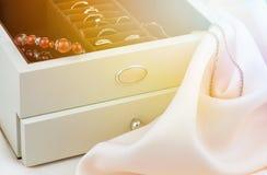 Коробка для ювелирных изделий Стоковое Фото