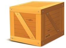 коробка деревянная Стоковое Изображение RF