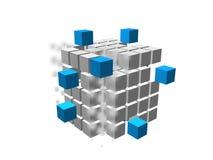 коробка 03 3d Стоковая Фотография RF