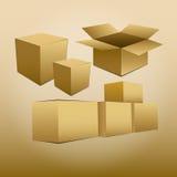 Коробка Стоковое Изображение RF
