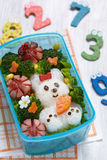 Коробка Bento Стоковое Изображение RF