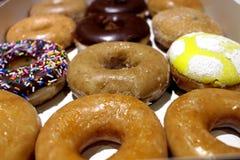 Коробка Donuts Стоковые Фото