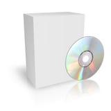 Коробка DVD или КОМПАКТНОГО ДИСКА Стоковая Фотография