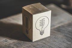 Коробка Edison светлая Стоковые Фото