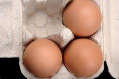 коробка eggs бумага Стоковые Изображения