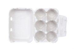коробка eggs пустая Стоковые Изображения RF