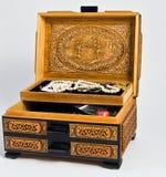 коробка jewerly Стоковое Изображение