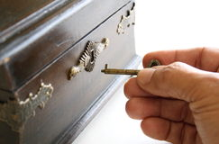 Коробка Pandoras отверстия стоковое фото