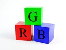 коробка rgb Стоковые Фото