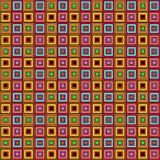 Коробка rubik картины с много цветов дальше бесплатная иллюстрация
