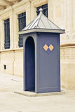 Коробка Sentry om Люксембург стоковое фото rf