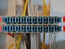 Коробка switchgear связи телефона Стоковое Изображение RF