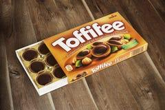 Коробка Toffifee Стоковое фото RF