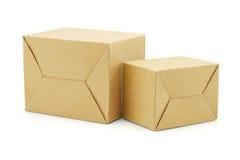 2 коробки Брайна бумажных Стоковые Фото