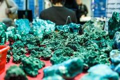 Коробки и аксессуары от малахита Стоковая Фотография RF