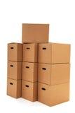Коробки коробки Стоковые Изображения