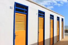 коробки купая пляжа Стоковое Фото
