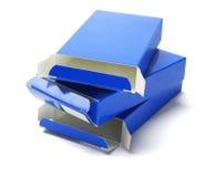 3 коробки медицины картона Стоковые Изображения