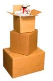 Коробки перевозкы груза Стоковая Фотография