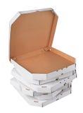 Коробки пиццы Стоковые Изображения RF