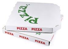 Коробки пиццы Стоковая Фотография RF