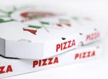 Коробки пиццы Стоковая Фотография