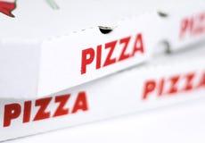 Коробки пиццы Стоковое Фото